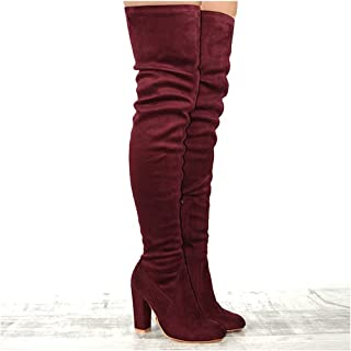 33bf0f4a8fe Amazon.com: Western - Over-the-Knee / Boots: Clothing, Shoes & Jewelry