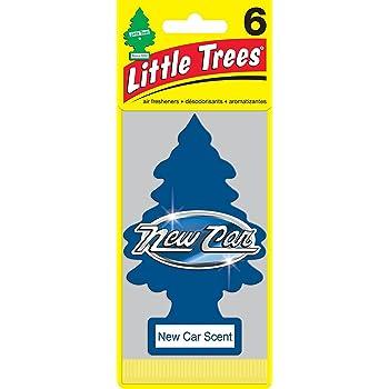 Little Trees リトルツリー エアフレッシュナー 芳香剤 新車の香り 6枚組 New Car Scent Air Freshener [並行輸入品]