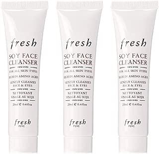 Fresh Soy Face Cleanser Mini Travel Trio 0.06 oz/Each