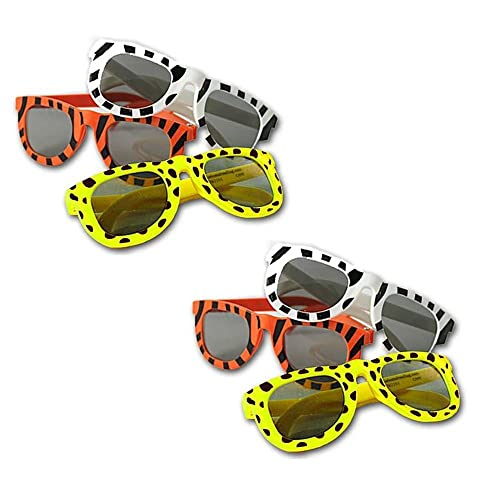 ec8087c02c7 Totem World 24 Animal Print Sunglasses