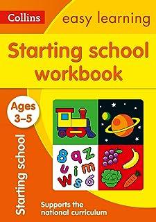 Starting School Workbook: Ages 3-5