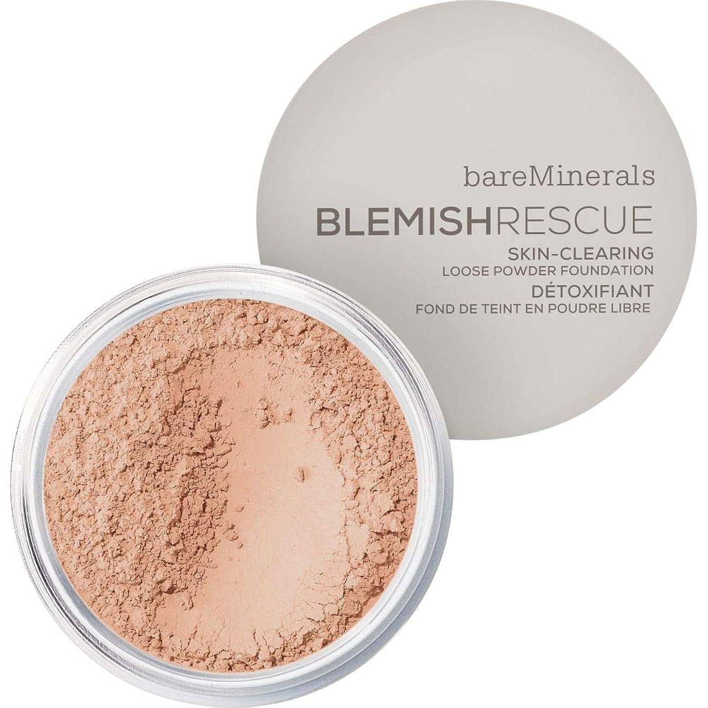 照らすワーディアンケースシャックル[bareMinerals ] メディア - ベアミネラルは、レスキュースキンクリア緩いパウダーファンデーションの6グラム3Cは傷 - bareMinerals Blemish Rescue Skin-Clearing Loose Powder Foundation 6g 3C - Medium [並行輸入品]