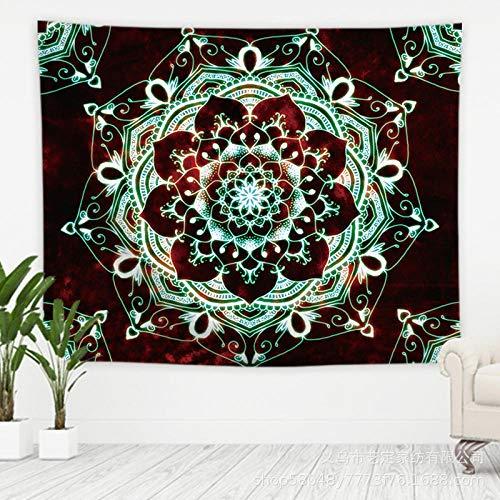 Obrand Tapiz Colgante de Pared Tapices de Pared,Mandala Hippie Wall Art, tapices Bohemios para decoración de Dormitorio, Sala de Estar, Dormitorio
