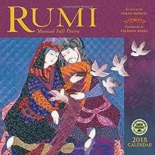 Rumi 2018 Wall Calendar: Mystical Sufi Poetry