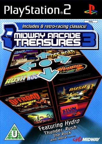 Midway Arcade Treasures 3 Videogioco Playstation 2 PS2 Nuovo Sigillato