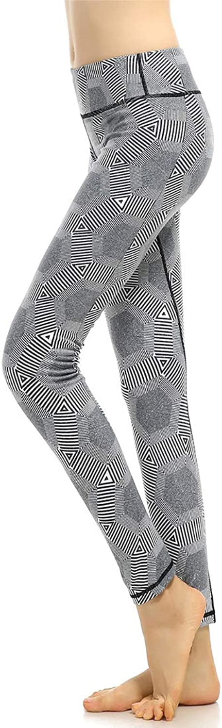 KEVIN POOLE Yoga Pants Fitness High Stretch Pants Breathable Suitable Leggins for Womens (Size   S)