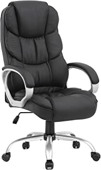High Back Leather Office Chair + $8.90 Rakuten.com Credit