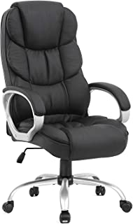 Ergonomic Office Chair Desk Chair Computer Chair with Lumbar Support Arms Executive..