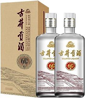 【酒厂自营】古井贡酒 60窖龄 500ml 浓香型高度白酒 (50度双瓶装)