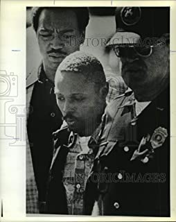 Vintage Photos 1979 Press Photo Tommy Lee Hines, Rapist in Custody, Morgan County, Alabama