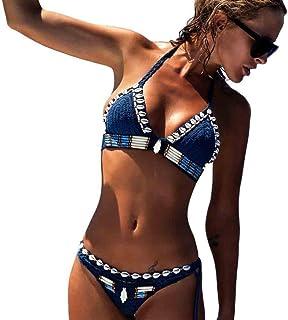 e4f84587ad90 Amazon.es: bikini crochet: Ropa