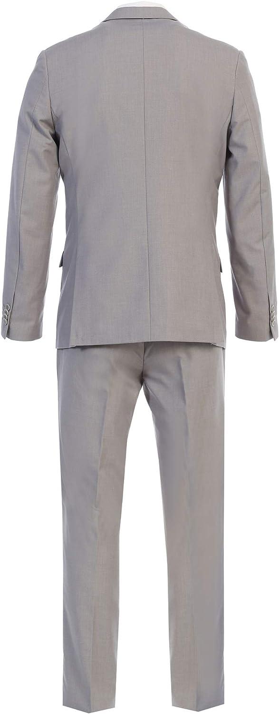 Men's Slim Fit Two Button Three Piece Suit - Many Colors