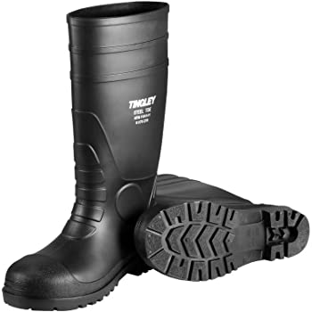Tingley 31251.12 Pilot 15-in Cleated Steel Toe Knee Boot, Size 12, Black
