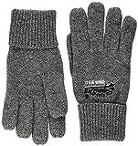 Superdry Men's Orange Label Glove (Basalt Grey Grit Q6s), One (Size: OS)