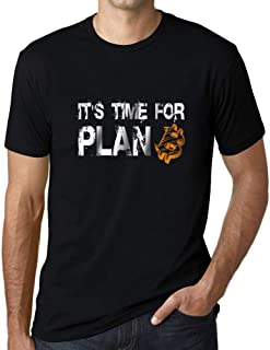 Ultrabasic® Graphic Men's It's Time for Plan B Bitcoin T-Shirt BTC HODL Tee Crypto Gift Idea
