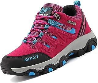 Zapatillas de Trekking para Hombres Zapatillas de Senderismo Botas de Montaña Antideslizantes Calzado de Trekking Botas de...