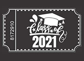 Class of 2021: Blank Coupon Book with 30 Gift Certificate Voucher Templates To Fill In Yourself : DIY Graduation Gift Idea...
