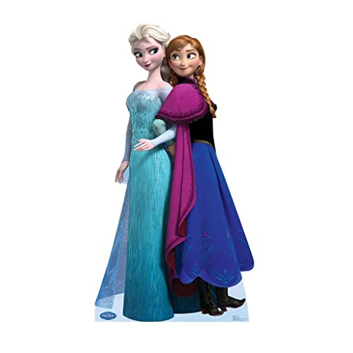 c196a0857a11 Elsa and Anna - Disney s Frozen - Advanced Graphics Life Size Cardboard  Standup