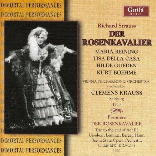 Der Rosenkavalier - Strauss - Krauss - Salzburg 1936 - Reining - Della Casa - Gueden - Boeheme - Poell