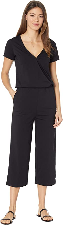 Blakely Short Sleeve Knit Jumpsuit