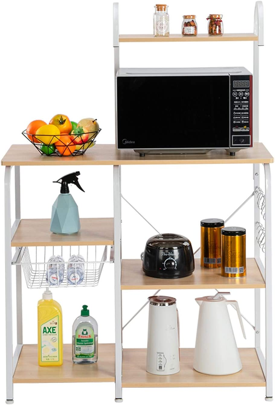 Kitchen Standing Baker's Rack 35.5 St Inch Over item handling ☆ Ranking TOP2 Microwave Industrial