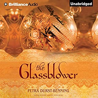 The Glassblower audiobook cover art