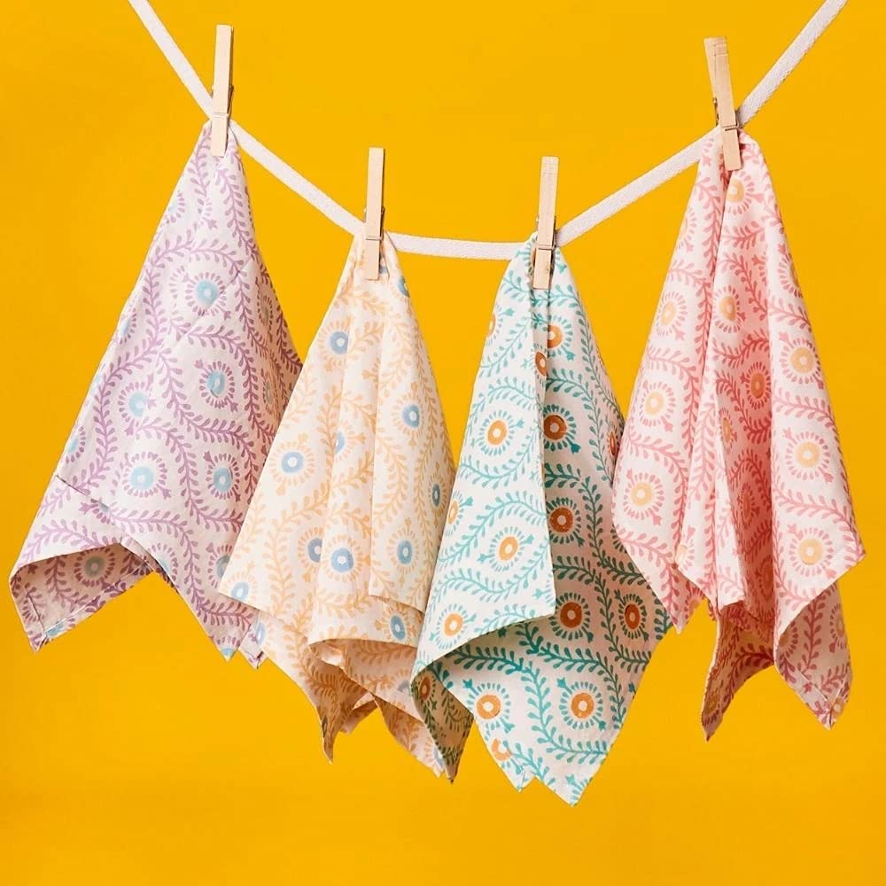 Colorful Low price New product! New type Motif Set Napkin