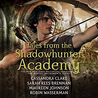 Tales from the Shadowhunter Academy audiobook cover art