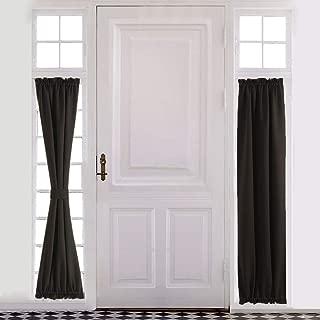 entry door side window coverings