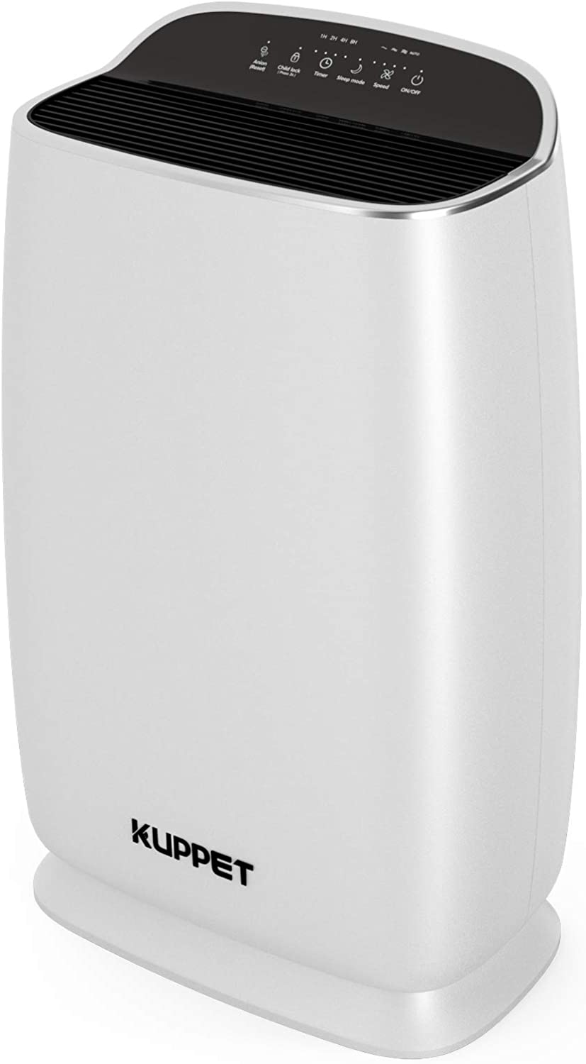 KUPPET Air Purifiers with True Negative Filter Anion 3-in- Special Campaign Long-awaited HEPA