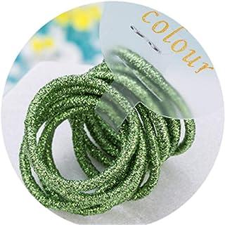 10PCS Cute 3.0Cm Elastic Hair Bands Tie Gum Scrunchie Rubber Band Children Headband Kids Accessories