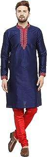 Larwa Men's Silk embroideded Kurta Pyjama Set Special for Festive, Wedding, Party Special for Diwali
