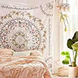 """Material: 100% lightweight polyester with hand-sewn finishes. Size: 59""""x 80"""", choose the right size for your idea. Fine line detail and intense vivid colors, this tapestry brings a decorative touch to any wall, bed or couch. This gorgeous piece of ar..."""