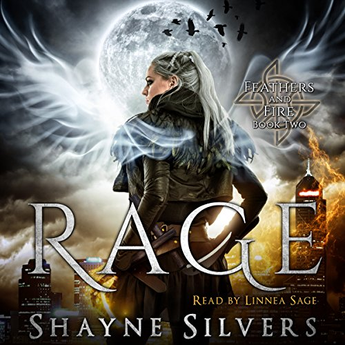 Rage: Feathers and Fire, Book 2 audiobook cover art