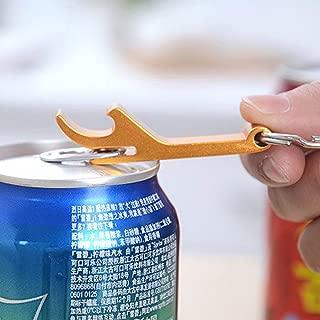 Qmsellz - Bottle Opener - 3 Pcs Portable Mini Bottle Opener Key Ring Chain Keyring Metal Beer Bar Claw - Usmc Vintage Sandals Shoots Vrod Yankees Lanyard Yellow Venom Clip Unicorn Mount Women Fem