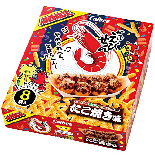 大阪 土産 かっぱえびせん たこ焼き味 (国内旅行 日本 大阪 お土産)