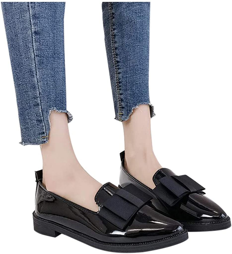 Casual Low Heels Work Washington Mall Med Heel Shoes Women Oxford Max 61% OFF Casu Flat