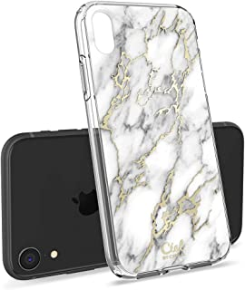 CYRILL Ciel [Cecile Collection] Designed for Apple iPhone XR Case (2018) - Glossy Marble
