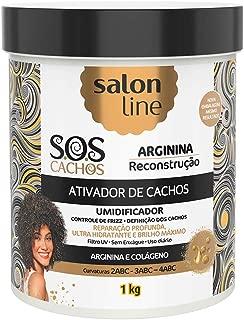 Ativador de Cachos - S.O.S Cachos - Reconstrução, 1 kg, Salon Line, Salon Line