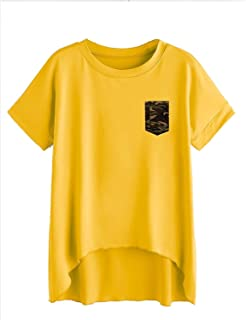 0455cb9f7 Yellows Women's T-Shirts: Buy Yellows Women's T-Shirts online at ...