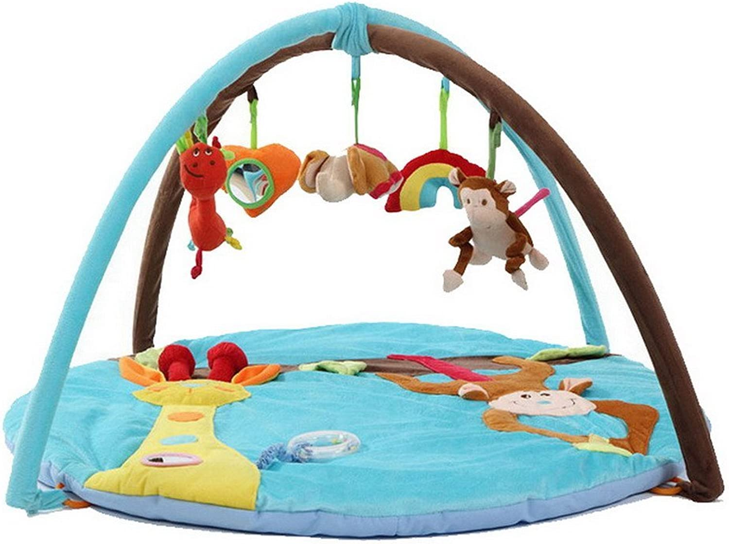 Baby Toddler Monkey Activity Gym Music Mat for Gif