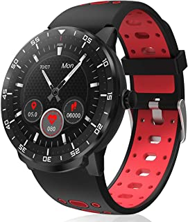 HopoFit Smart Watch for Android iOS Phones IP68 Waterproof Smartwatch, Fitness Tracker Sport Watch with Blood Pressure Hea...