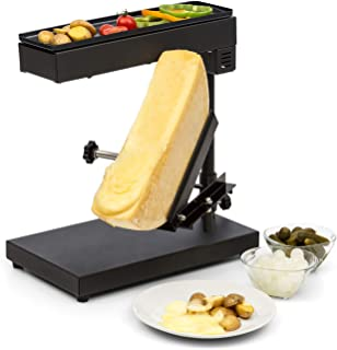 comprar comparacion Klarstein Appenzell Savory Raclette con Grill - Altura y Temperatura Ajustable, Giratorio, Reclinable, Potencia 1000 W, pa...