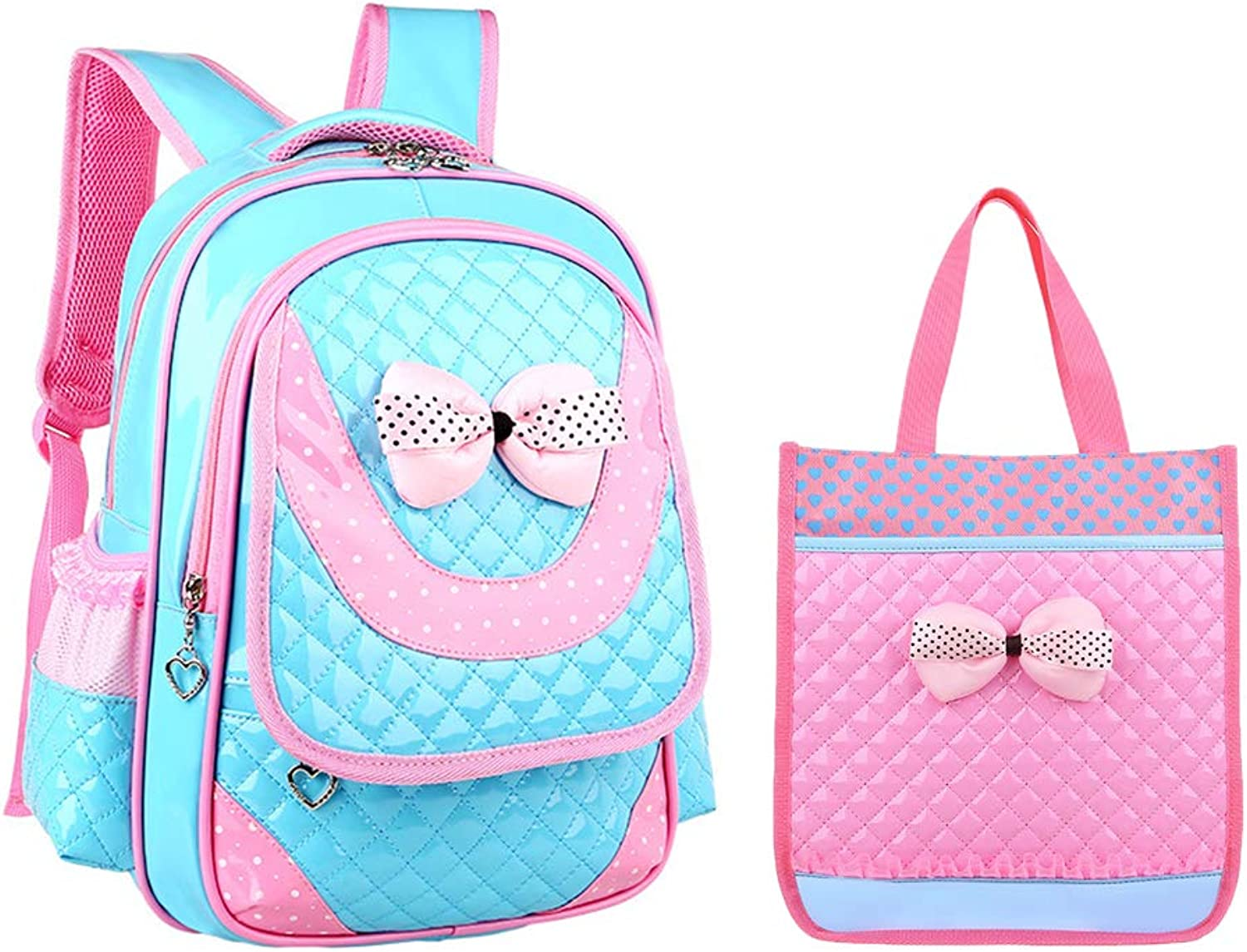 Girls Backpack School Bags Laptop Bag  Zhhlaixing Lightweight and Durable Backpack Reduce Burden Nylon Waterproof Kids Cute Princess Bookbag for Girls
