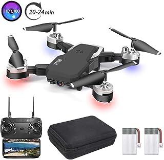 3T6B Dron con Cámara,1080P HD, Avión WiFi FPV por Control