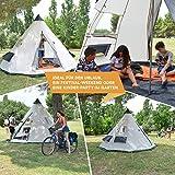 Zoom IMG-1 skandika tipii tenda campeggio indiana