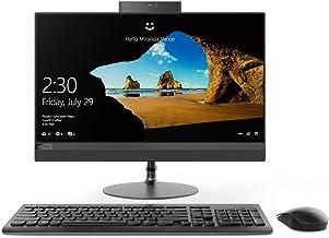 Lenovo IdeaCentre AIO 520 - Ordenador todo en uno (procesador Intel i3-7020U de 2,30 GHz, memoria RAM de 8 GB, SSD de 256 GB, Bluetooth, HDMI, webcam HD, Windows 10 Pro)