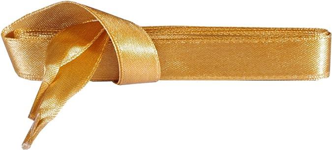 lorpops Lacets en ruban de satin pour femmes filles 1 paire de 5 couleurs UK 3//4 pouces de largeur