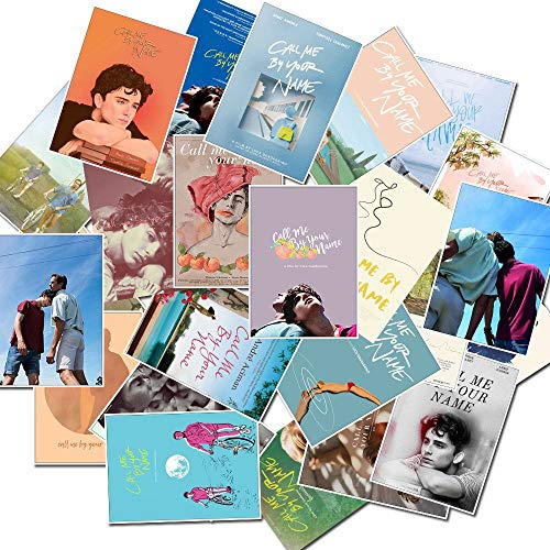 10/30/50PCS retro movie please call me by your name stickers personalized decoration graffiti stickers wholesale