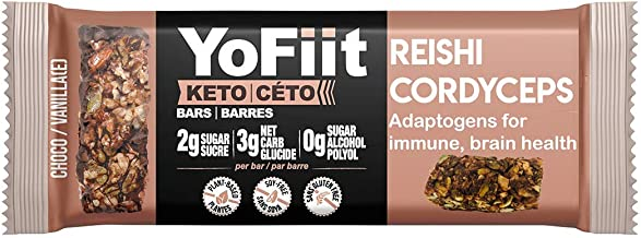 Sponsored Ad - Keto Bars - Low Carb, Keto Diet Snacks. Net Carbs Only 3g. Dairy-Free (Vegan), Raw, Gluten-Free. Paleo Frie...